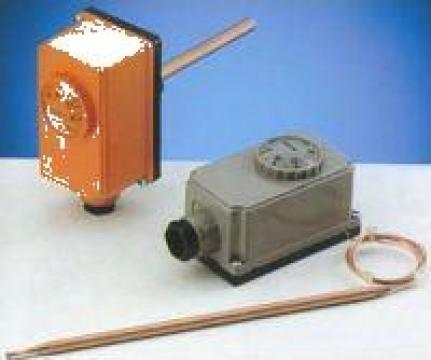 Termostat contact IMIT cu imersie TC 2 - 40/210 grd C de la Ecoflam Srl