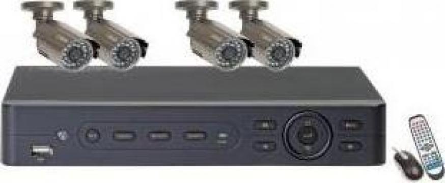 Kit supraveghere video de la Microsafe Sistem Srl