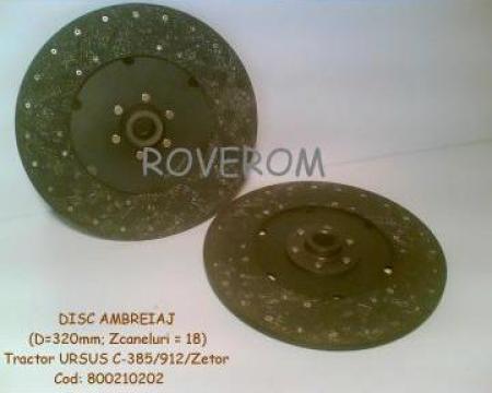 Disc ambreiaj Ursus C-385, Zetor, 325mm, 18 caneluri