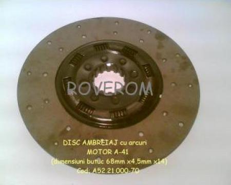 Disc ambreiaj (350mm/14 caneluri)(cu arcuri) motor A-41