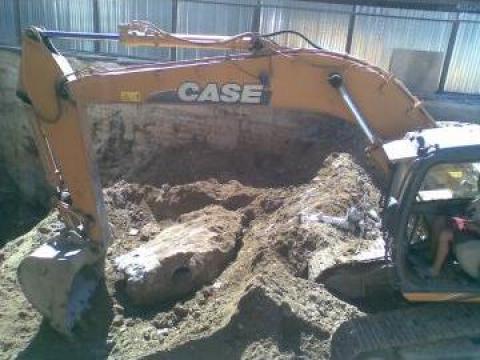 Excavatii fundatii de constructii de la Com Trans Tudor C Srl