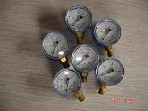 Manometru oxigen, BDT-51 A 40 mm-carcasa albastra