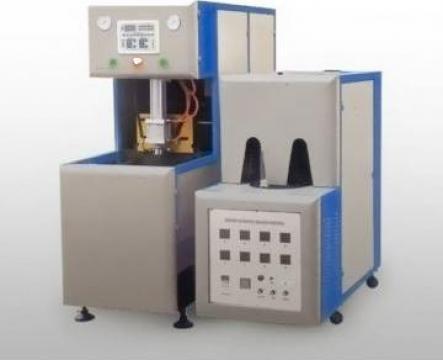 Masini semi-automate de suflat PET-uri