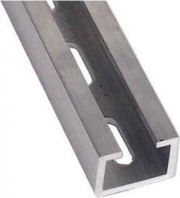 Profil C Aluminiu 25x15mm