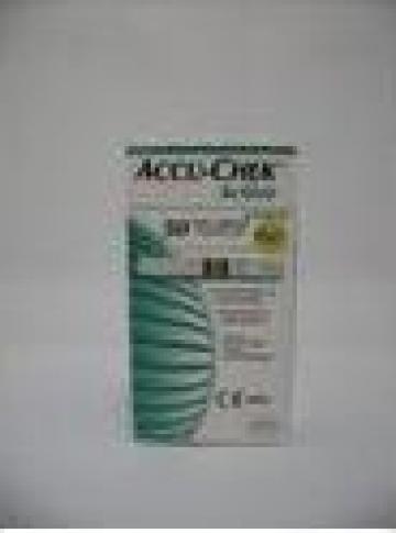 Teste de glicemie Accu-Chek Active de la Business View Solutions Srl