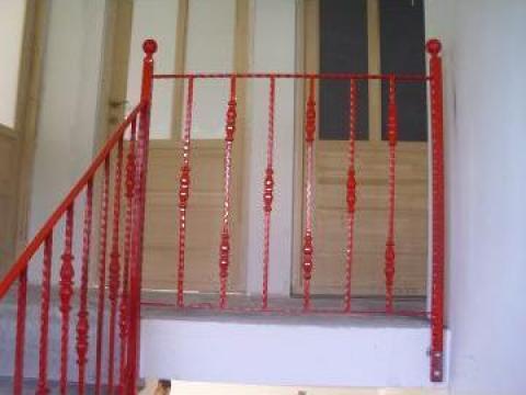 Balustrada fier forjat de la M & B Inox