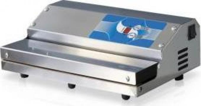 Masina de ambalat sub vid Premium 350 Inox de la Tehno Food Com Serv Srl