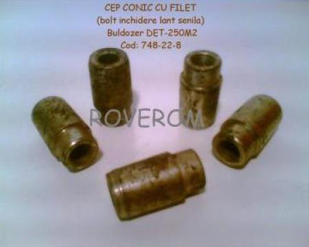 Cep conic cu filet (bolt inchidere lant senila) DET-250m2