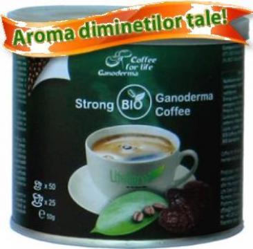 Cafea Strong Ganoderma BIO Coffee de la Buzzdeal.ro