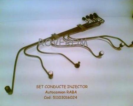 Set conducte injector Raba