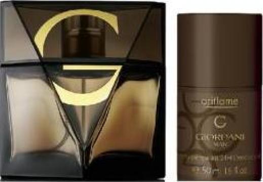 Set Parfum Giordani Man Parfum 75 Ml Deo Roll On 50 Ml