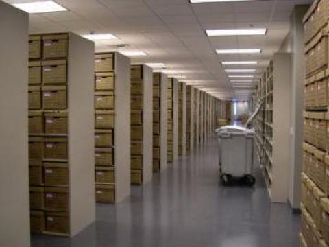 Inchiriere spatii depozitare arhiva