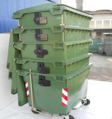 Containere 1100l second hand de la Ecologica Achile Srl