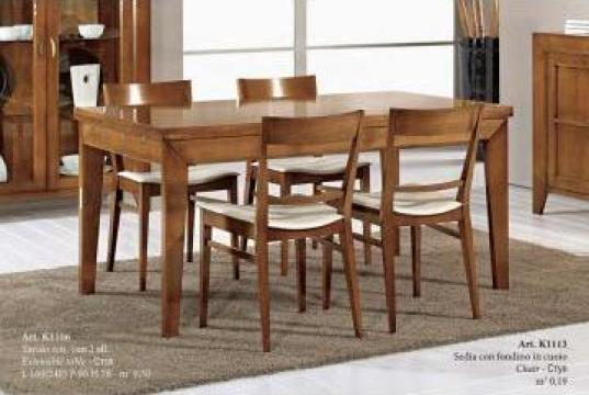 Masa lemn masiv sufragerie K1106