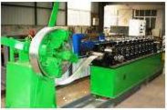 Linie echipament de productie profile rigips CD,UD,CW,UW de la Concept Design Construct Srl