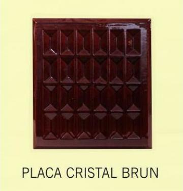 Cahle teracota Stalp + placa Cristal Brun de la Fancris Srl