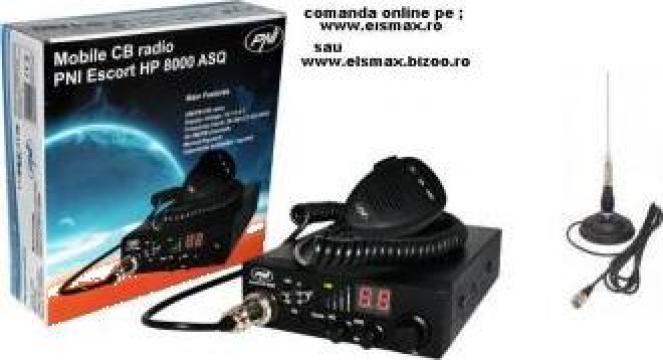 Statie radio PNI HP- 8000L + antena ml145 pni