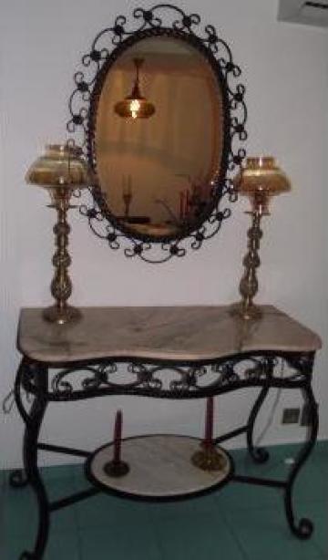 Oglinda de perete fier forjat de la Forjart Srl