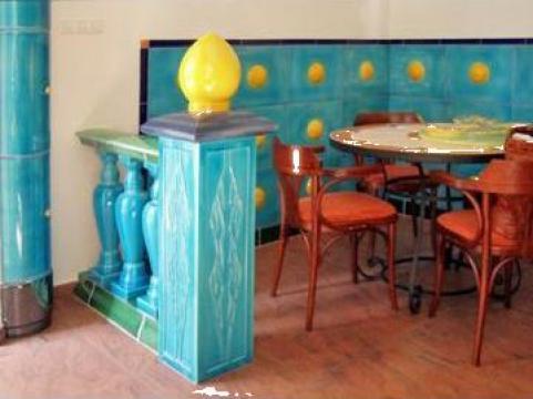 Ceramica pentru decoratiuni interioare de la Biro Finart Srl