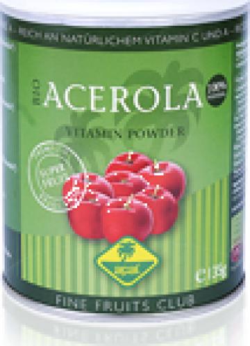 Pudra detoxifianta vitaminizanta Acerola Vitamin Powder de la Fructetropicale.ro