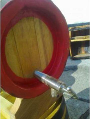 Butoaie lemn cu suport 10 litri