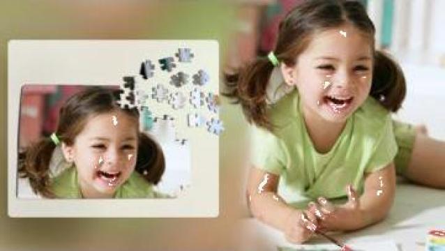 Puzzle personalizat din MDF de la Sian Image Media Srl