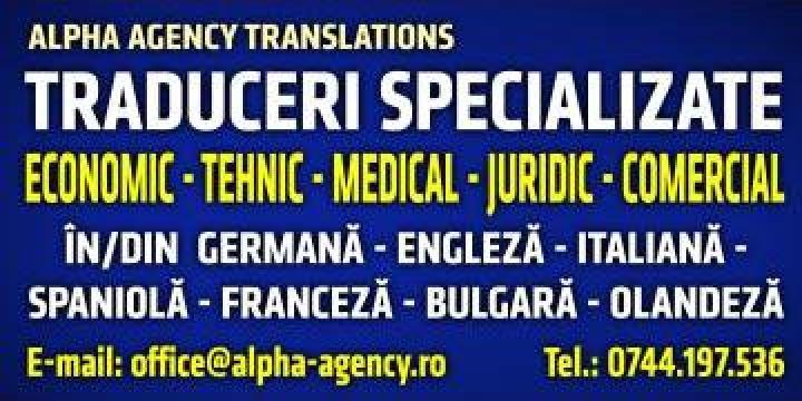 Traduceri pentru companii limba engleza