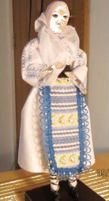 Papusi imbracate in costume traditionale de la I. F. Cimpureanu