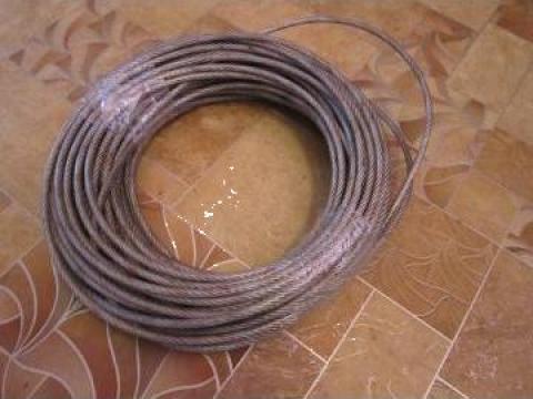 Cablu otel plastifiat fi 6 mm, 35 ml de la Baza Tehnica Alfa Srl