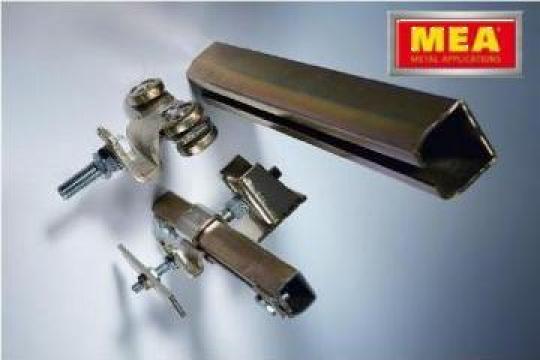 Role pentru porti glisante de la Mea Metal Applications Srl