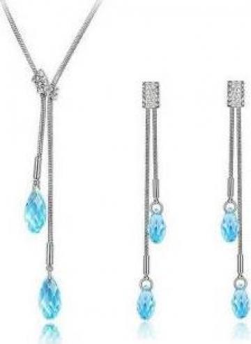 Set de bijuterii cu cristale Swarovski Cyrilla de la Carlan Valentin Lucian Ii