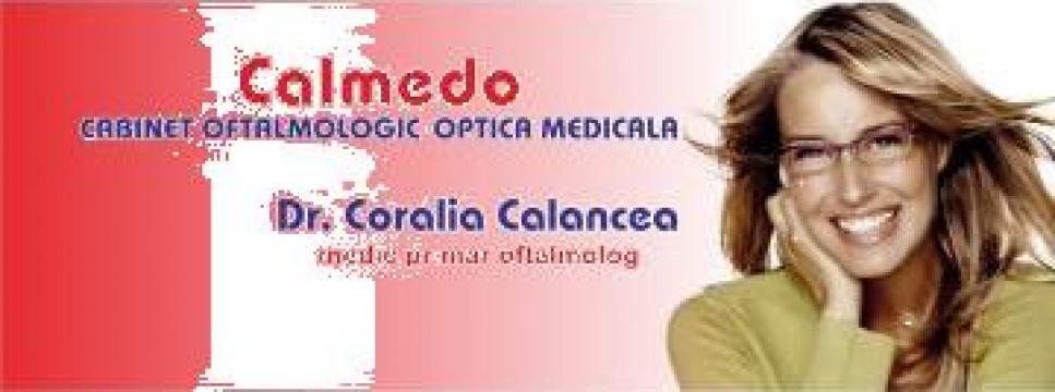 Consultatii oftalmologice/ chirurgie ortopedie pediatrica de la Calmedo S.R.L.