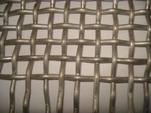 Plasa impletitura metalica speciala