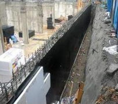 Hidroizolatie fundatie de la Dinamic Blue Steel