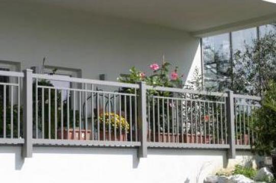 balustrade din aluminiu pentru balcon si scari timisoara dmc fencetech id 7998339. Black Bedroom Furniture Sets. Home Design Ideas