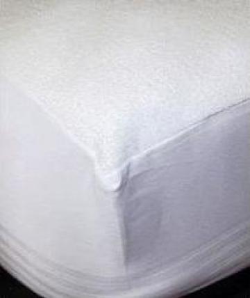Cearsaf pat alb cu elastic
