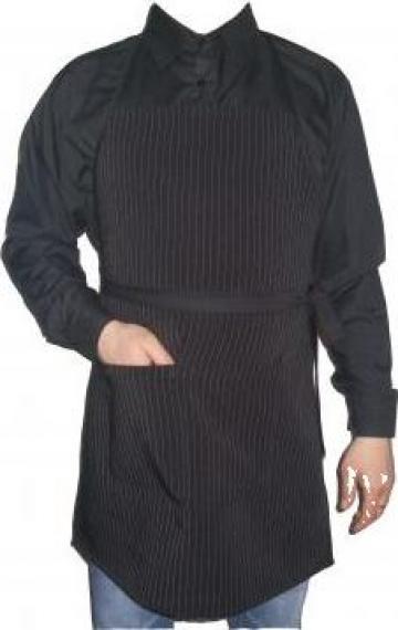 Sort negru cu dungi albe ospatar de la Johnny Srl.