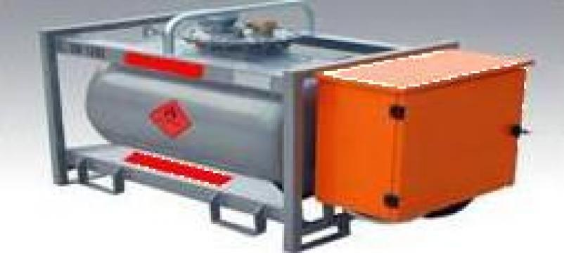 Rezervor motorina mobil 920 litri de la Simba's Group Srl