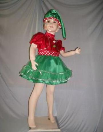 Costum de spiridus pentru fetite de la Costume De Serbare Pompilia Silaescu