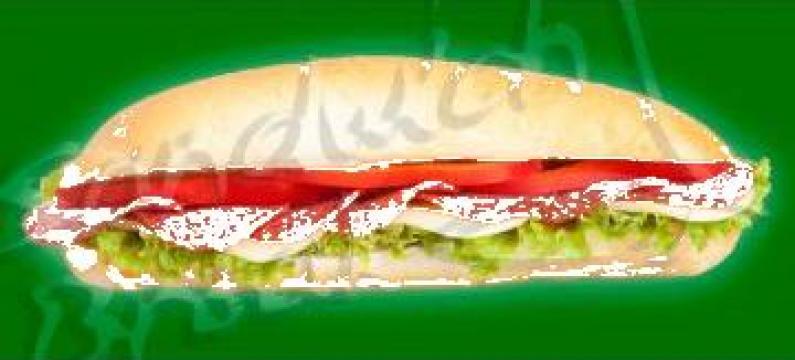 Sandwich cu salam de Sibiu