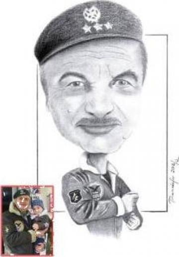 Portrete, caricaturi, picturi, desene pereti