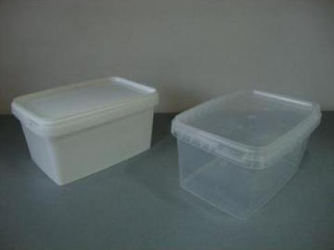 Ambalaje dreptunghiulare din plastic 0.600ml de la Iv Trading Ltd