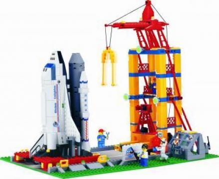 Joc Lego City Spatiale pentru Copii-Baza Spatiala de la Brick Toy Srl