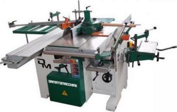 Masina combinata pentru tamplarie lemn cu 7 operatii