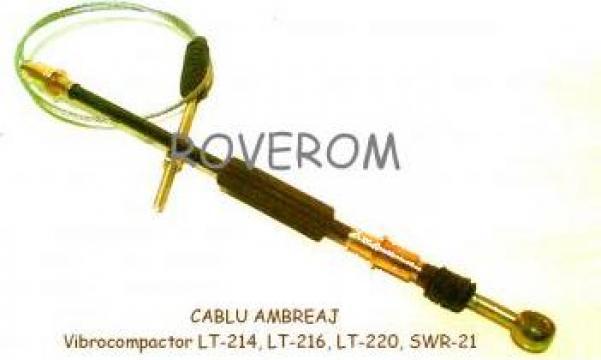 Cablu ambreiaj vibrocompactor LT-214 de la Roverom Srl