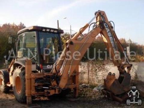 Inchiriere buldoexcavator in Pipera Case 580SR de la ACN Piese Utilaje