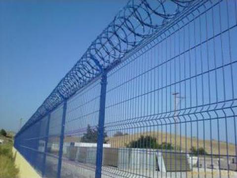 Sarma concertina Nato spiralata cu lamele taietoare de la Romart Strategy Srl