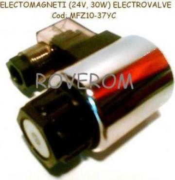 Bobina 24V, D23x50mm, electrovalve hidraulice de la Roverom Srl