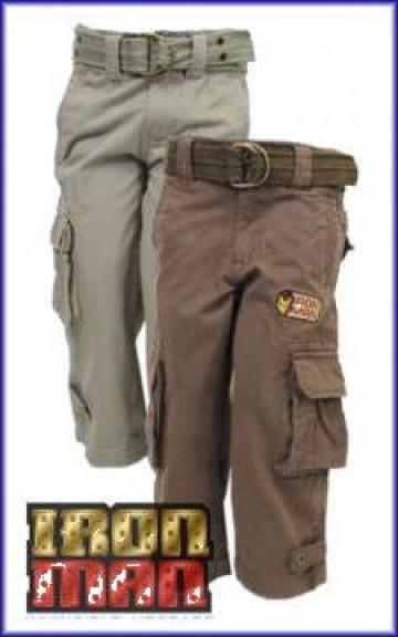 Pantaloni baieti Iron Man de la Super Hainute Distribution