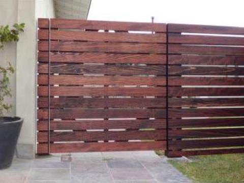Gard de lemn de la Rollux Construct